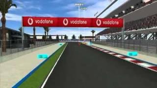 Primera carrera Clio Cup - Circuito de Abu Dhabi - Piloto MoBy