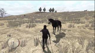 getlinkyoutube.com-How to Unlock the Dark Horse in Red Dead Redemption
