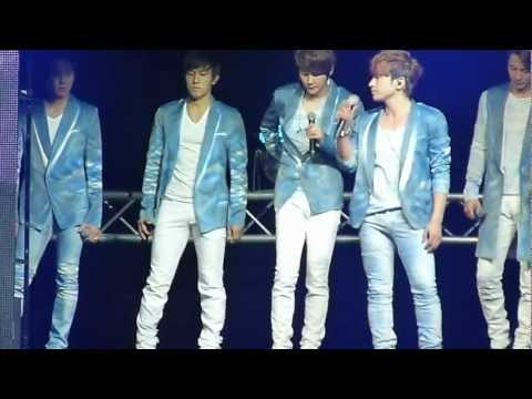 [FANCAM]120616 Once in a Lifetime  - Shinhwa Grand Tour: The Return  in Singapore
