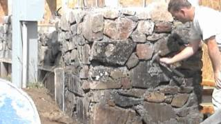 getlinkyoutube.com-Slipform Stone Masonry (sample clips from the DVD)
