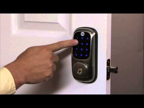 Yale Real Living Touchscreen Deadbolt Programming - Network Module Setting 12
