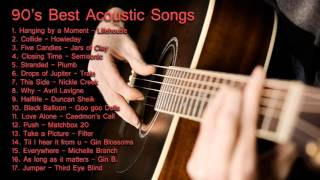 90's Best Acoustic Songs Vol. 1 width=