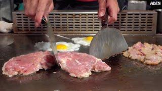 getlinkyoutube.com-Taiwan Street Food: Chicken Teppanyaki