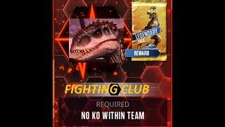 getlinkyoutube.com-No KO Within Team!! STAY ALIVE!! Jurassic World The Game - HD