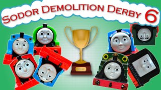getlinkyoutube.com-Sodor Demolition Derby 6 | Thomas and Friends Trackmaster | Strongest Engine