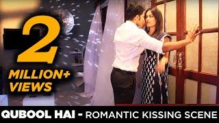 getlinkyoutube.com-Qubool Hai romance kissing scene | Aahil Gets Jealousof Sanam Behind the Scenes | BTS