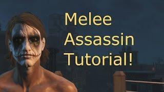 getlinkyoutube.com-Fallout 4: Melee Assassin tutorial!