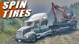 getlinkyoutube.com-Spin Tires - Caminhão Kenworth T660