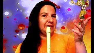getlinkyoutube.com-EL CHAVO DEL OCHO para flauta dulce tutorial