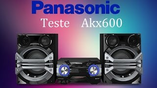 getlinkyoutube.com-Panasonic akx600, TEST...