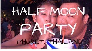 getlinkyoutube.com-CRAZY Half Moon Festival | Phuket Thailand 2016 | Vlog 026