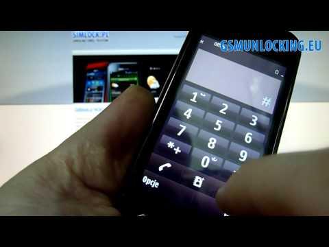 How to UNLOCK NOKIA N97 mini via code - How to Enter Code