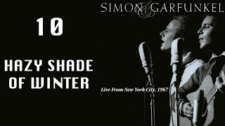 getlinkyoutube.com-Hazy Shade Of Winter, Live From NYC 1967, Simon & Garfunkel