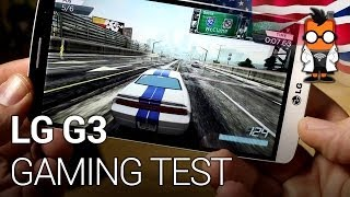 LG G3 gaming test with the QuadHD smartphone [ENGLISH]
