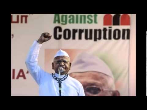 Anna Hazare Goes Into Hunger-strike Against Corruption