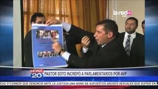 getlinkyoutube.com-Pastor evangélico Javier Soto agredió a parlamentarios por AVP