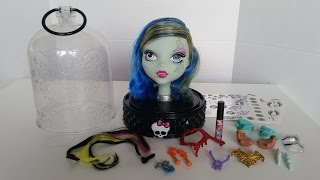 getlinkyoutube.com-Gore-Geous Anti Styling Head - Monster High
