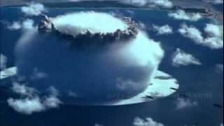 getlinkyoutube.com-HISTORIA LICENCIATURA  Filme Original em cores do teste da Bomba Atômica no atol