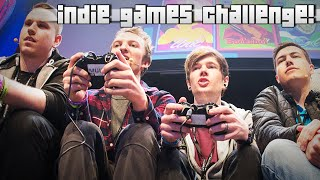getlinkyoutube.com-INDIE GAMES CHALLENGE!! w/DanTDM, AshDubh, MasterOv & Gizzy Gazza!!