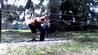 getlinkyoutube.com-Next World Order Championship Wrestling-Malevolence- Baron Corbin vs Bray Wyatt