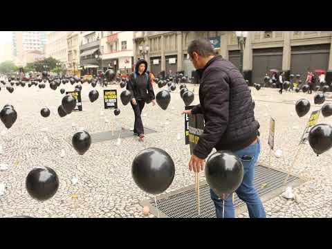 Vídeo: manifestação cultural no aniversário de Curitiba