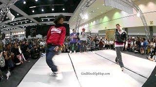 getlinkyoutube.com-Marie Poppins vs Larry (Les Twins)  Dinoi vs Ruin: All Style Battle SEMI FINALS WOD World of Dance