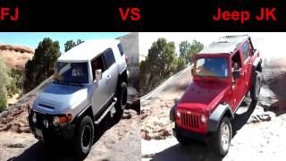 getlinkyoutube.com-FJ Cruiser vs JK