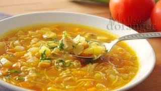 getlinkyoutube.com-Recette de Chorba : Soupe aux légumes / Moroccan vegetable soup