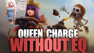 getlinkyoutube.com-How To Queen Charge Lavaloon Without Earthquake   Full Guide TH9 Strategy   Clash Of Clans Tutorial