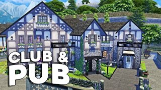 getlinkyoutube.com-The Sims 4 Speed Build  - Club & Pub