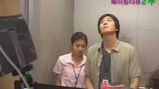 getlinkyoutube.com-Ha Ji Won and Yeon Jeong-hoon - the Making of Daddy-Long-Leg