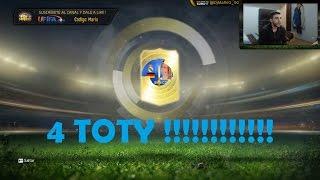 getlinkyoutube.com-FIFA 15 | 4 TOTY !!!!!! BRUTAL PACK'S OPENING | Ultimate Team | DjMaRiiO