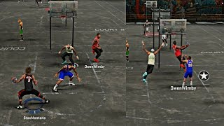 getlinkyoutube.com-NBA 2k16 My Park - SNATCHED THAT BOY ANKLES WITH A STEP BACK ! CRAZY STUPID 360 DUNKS !