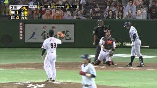 getlinkyoutube.com-2010年10月2日 巨人対横浜 トリプルプレー