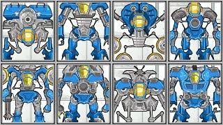 getlinkyoutube.com-Amazing Mecha Robots - Part 1 - Full 8 Robots Game Play - 1080 HD