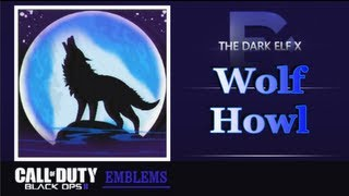 getlinkyoutube.com-Black Ops 2 Emblem - Wolf Howl