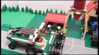 getlinkyoutube.com-LEGO Farm Sets : 7634 7635 7636 7637 / (all sets from 2009 !!! )  Built in Stop - Motion 2009
