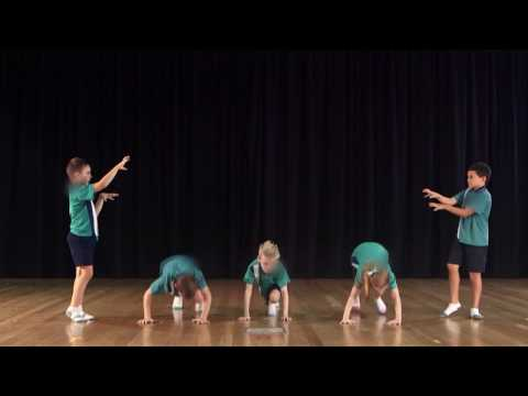 The Arts: Dance - Above satisfactory - Years 3 and 4