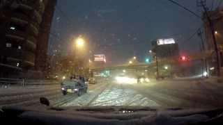 getlinkyoutube.com-【フォレスターSH】大雪で千葉県の景色じゃない!その4