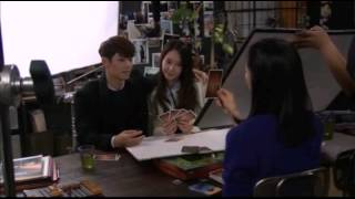 getlinkyoutube.com-CNBLUE Minhyuk & Krystal - Behind The Kiss (full)