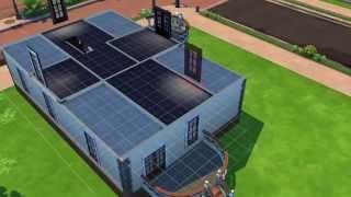 getlinkyoutube.com-Jak zbudować prosty i ładny dom w Sims 4? część 1