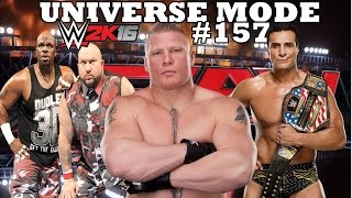 getlinkyoutube.com-WWE 2K16 UNIVERSE MODE #157| THE BEAST IS BACK!