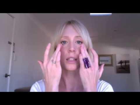 Self Lymphatic Facial Drainage Massage