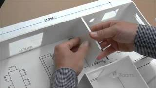getlinkyoutube.com-Building Foam board Models Making House Scale Model PART 4