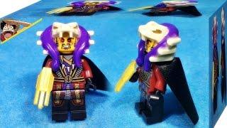 getlinkyoutube.com-JLB 닌자고 마스터 첸 레고 짝퉁 미니피규어 조립 리뷰 Lego knockoff Ninjago master chen minifigures