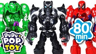 March-2018-TOP-10-Videos-80min-Go-Avengers-Paw-patrol-and-PJmasks-DuDuPopTOY width=