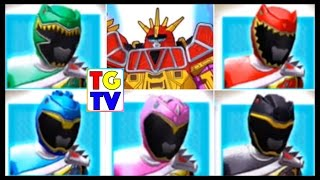 Power Rangers Dino Charge Rumble Game Stage 5 (Battles Edited)
