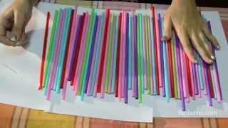 getlinkyoutube.com-Cómo decorar una fiesta infantil con pajitas | facilisimo.com