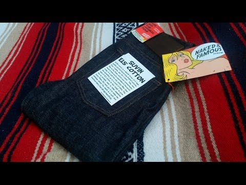 Naked and Famous Suvin ELS Weird Guy 13oz Raw Indigo Selvedge Indian Denim Review