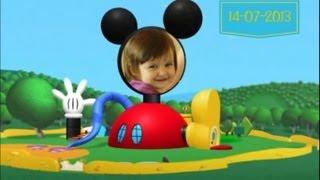 getlinkyoutube.com-Retrospectiva narrada Mickey e Minnie vermelha - Lorena 2 anos